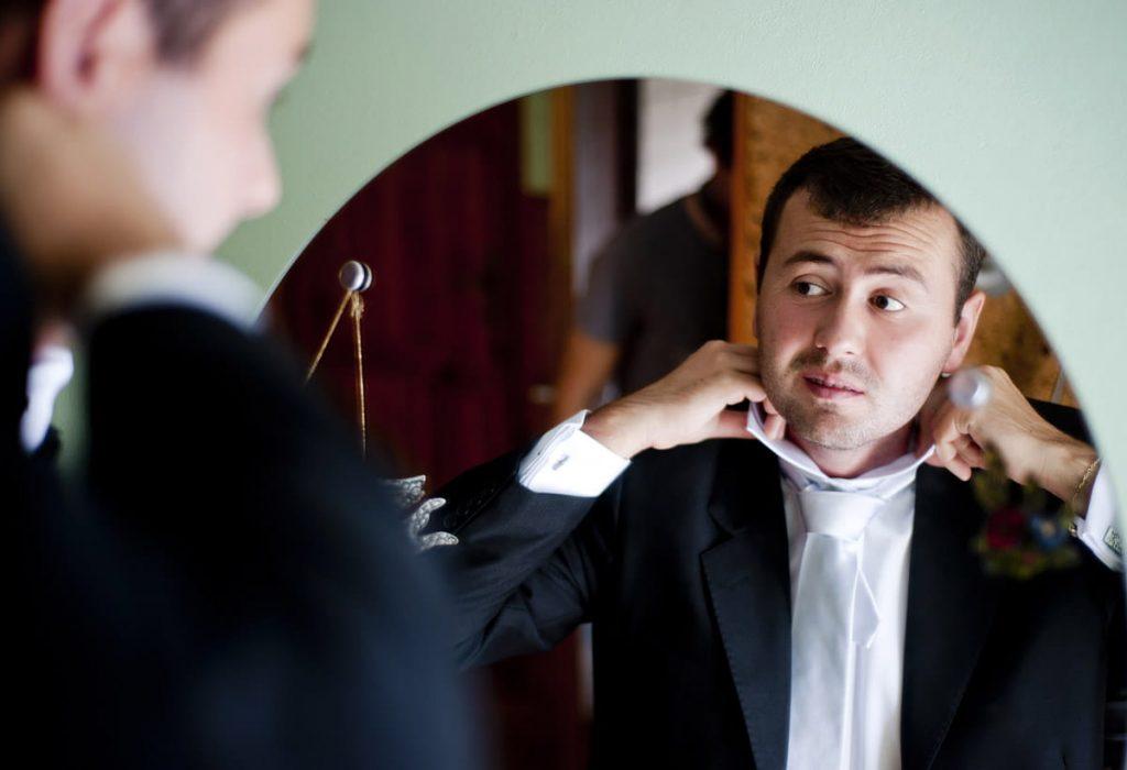 Hombre se siente bien y sin irritaciones pese a tener la piel sensible